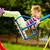 Girl on swing stock photo © pressmaster