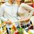 süpermarket · koridor · gıda · adam - stok fotoğraf © pressmaster