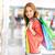 compras · retrato · menina · feliz · colorido - foto stock © pressmaster