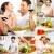 Couple in kitchen stock photo © pressmaster