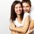 Zuneigung · glücklich · Frau · Ehemann · schauen · Kamera - stock foto © pressmaster