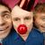 infeliz · palerma · retrato · homem · vermelho · nariz - foto stock © pressmaster