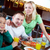 Family in cafe stock photo © pressmaster