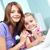 Freizeit · home · Mutter · Tochter · Wochenende · zusammen - stock foto © pressmaster