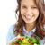 kadın · salata · güzel · kız - stok fotoğraf © pressmaster