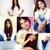 mooie · meisje · collage · jong · meisje · poseren · camera - stockfoto © pressmaster
