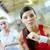 vitória · corrida · menina · mulheres · fitness - foto stock © pressmaster