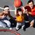 basquetebol · estudar · imagem · pais · filho - foto stock © pressmaster