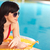 zomertijd · jonge · aantrekkelijke · vrouw · genieten · strand · vrouw - stockfoto © pressmaster