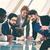 negócio · discussão · grupo · pessoas · de · negócios · discutir · dados - foto stock © pressmaster