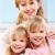 tre · felice · sorelle · twin - foto d'archivio © pressmaster