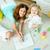 babysitter with kids stock photo © pressmaster