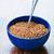 Boiled buckwheat in a bowl Сток-фото © prg0383