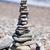 pirâmide · pedras · praia · saúde · verão · pedra - foto stock © prg0383