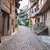 idilli · díszlet · falu · nyár · sikátor · kultúra - stock fotó © prill