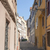 straat · Frankrijk · historisch · huizen · stad · centrum - stockfoto © prill