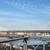 manhattan · linha · do · horizonte · ponte · New · York · City · EUA - foto stock © prill