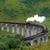 vapeur · train · Écosse · bord · été · vert - photo stock © prill
