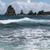 sahil · manzara · caribbean · ada · okyanus · kaya - stok fotoğraf © prill