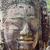 escultura · pormenor · templo · angkor · Camboja · cara - foto stock © prill