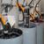 印刷機 · 詳細 · マニュアル · 電源 · 鋼 · スレッド - ストックフォト © prill