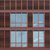 absztrakt · ház · homlokzat · kék · ég · család · nap - stock fotó © prill