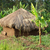 small shack near rwenzori mountains stock photo © prill