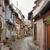 idilli · díszlet · falu · nyár · építészet · sikátor - stock fotó © prill