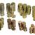 argento · monete · texture · piastrelle · pattern - foto d'archivio © prill