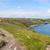 半島 · 風景 · 水 · 草 · 海 - ストックフォト © prill