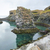 bazalt · oszlop · képződmény · fekete · Izland · közelkép - stock fotó © prill