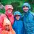 famille · trekking · jour · montagnes · femme · nature - photo stock © przemekklos