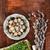Pasen · eieren · houten · tafel · voorjaar · natuur · ei - stockfoto © przemekklos