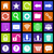 tool bar color icons on black background stock photo © punsayaporn