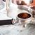 エスプレッソ · コーヒーショップ · ヴィンテージ · スタイル · 在庫 - ストックフォト © punsayaporn
