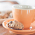 koffiepauze · granen · cookies · voorraad · foto · chocolade - stockfoto © punsayaporn