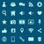 抽象的な · 青 · 技術 · 在庫 · ベクトル - ストックフォト © punsayaporn