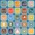 laundry flat icons on blue background stock photo © punsayaporn