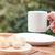 mulher · xícara · de · café · sobremesa · bebidas - foto stock © punsayaporn