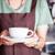 barista serving freshly brewed coffee stock photo © punsayaporn