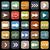 aplicação · ícones · longo · sombra · conjunto · estoque - foto stock © punsayaporn
