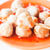Mini pork balls in orange dish on clean table stock photo © punsayaporn