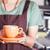 barista presents freshly brewed coffee stock photo © punsayaporn