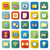 application color icons with long shadow stock photo © punsayaporn