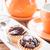 печенье · пудинг · плодов · продовольствие · торт · желтый - Сток-фото © punsayaporn