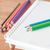 colorful pencils on spiral notebook and green notebook stock photo © punsayaporn