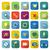 web color icons with long shadow stock photo © punsayaporn