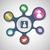 contatto · cerchio · solido · icone · business · internet - foto d'archivio © punsayaporn