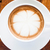beautiful cup of hot cafe mocha on wooden table stock photo © punsayaporn