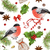 christmas vintage pattern stock photo © purplebird